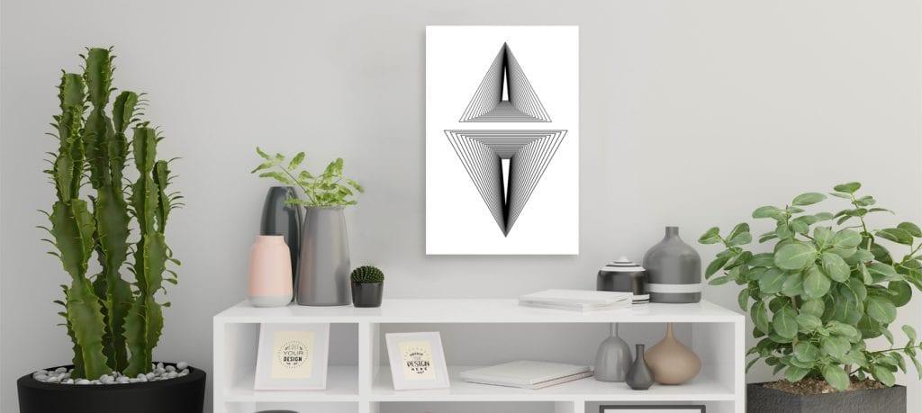 Lleva la naturaleza a tu hogar,decoración minimalista