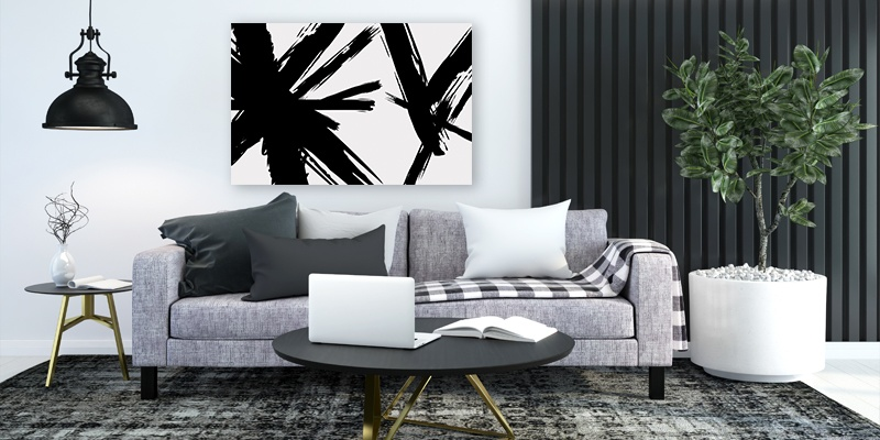 5 Ideas de cuadros decorativos para sala,Portada