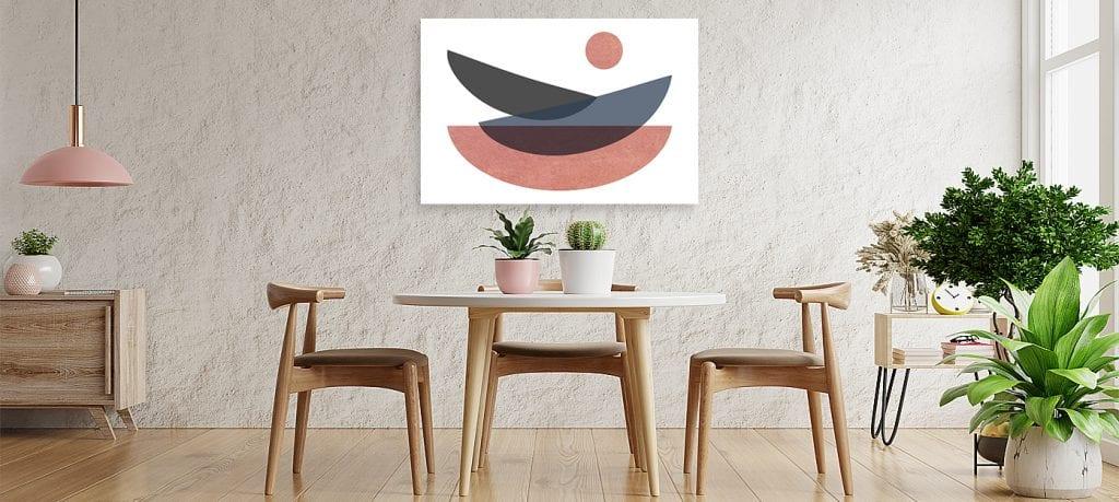 Y hablando de calidez… ,decoración minimalista