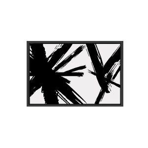 Abstracción blanc (Canvas con Marco)