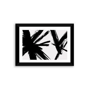 Abstracción blanc (Impresión Enmarcada)