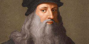 Leonardo Da Vinci, Portada