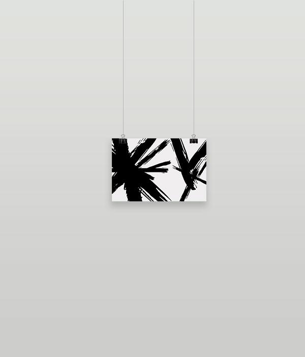 Abstracción blanc (Poster)
