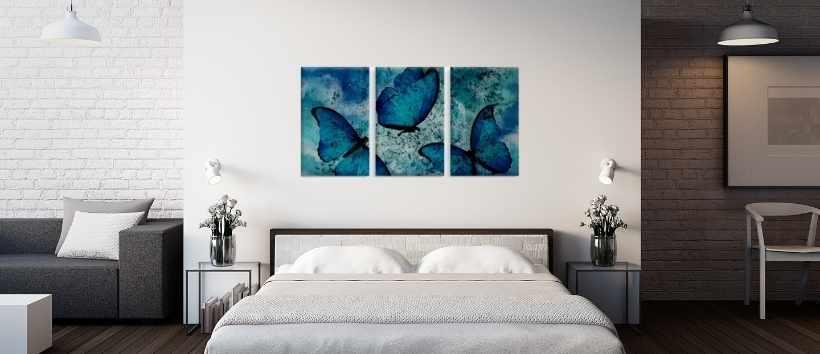 Triptico Mariposas