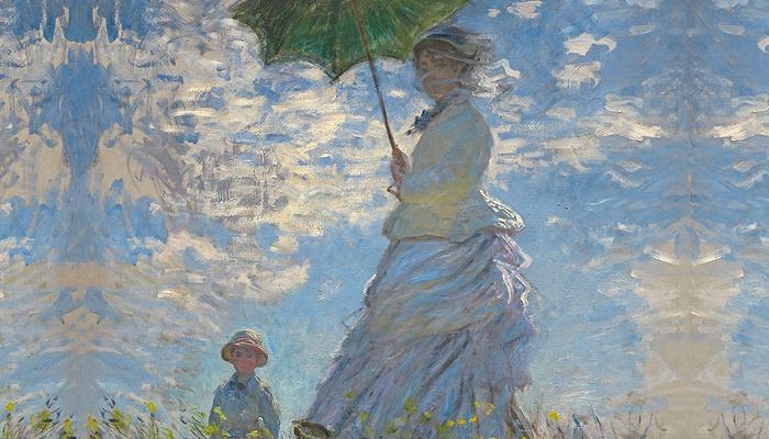 pinturas de Monet, Portada