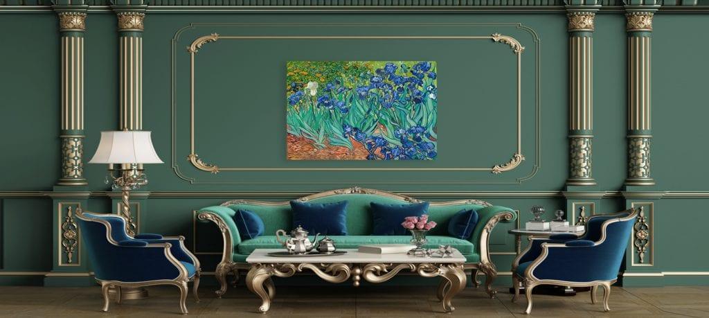3.-Los muebles son protagonistas, decoración de estilo clásico