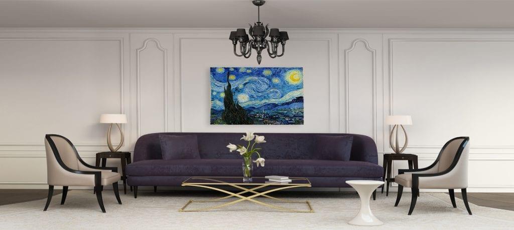 4.-Ilumina con lámparas,decoración de estilo clásico