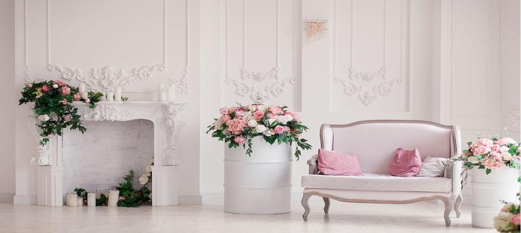 6.-Plantas para decorar, decoración de estilo clásico6.-Plantas para decorar, decoración de estilo clásico