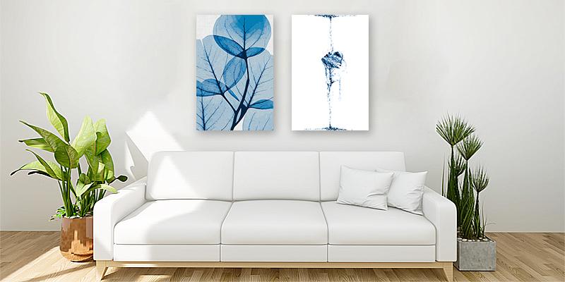 Como decorar una sala con cuadros decorativos
