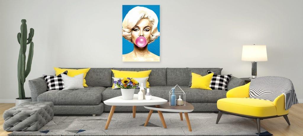 Fotos chistosas al estilo PopArt en Canvas