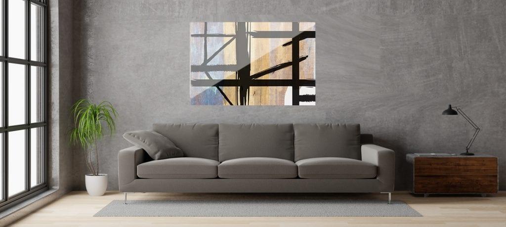 Si lo tuyo es lo urbano decora con un flat acrílico deestilo industrial, cuadros decorativos